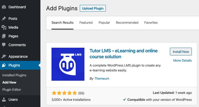 plugin tutor