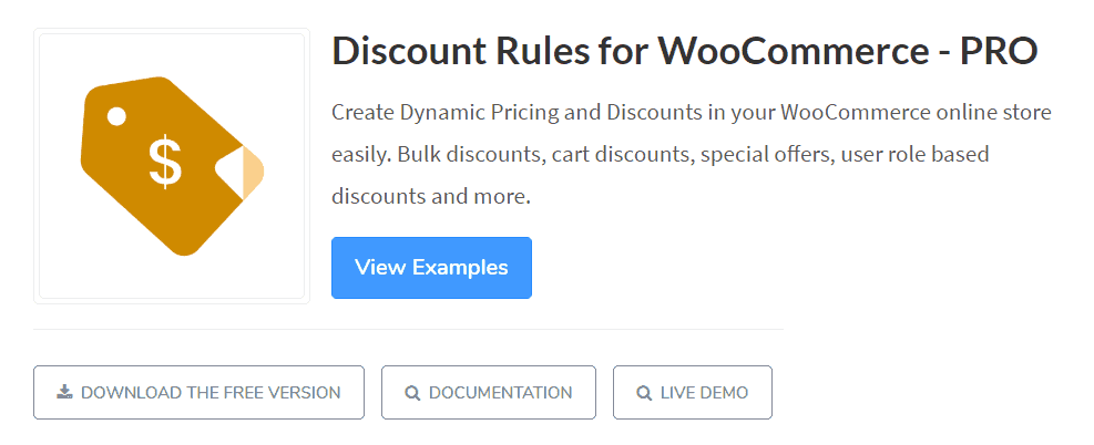 discount rules woocommerce plugin
