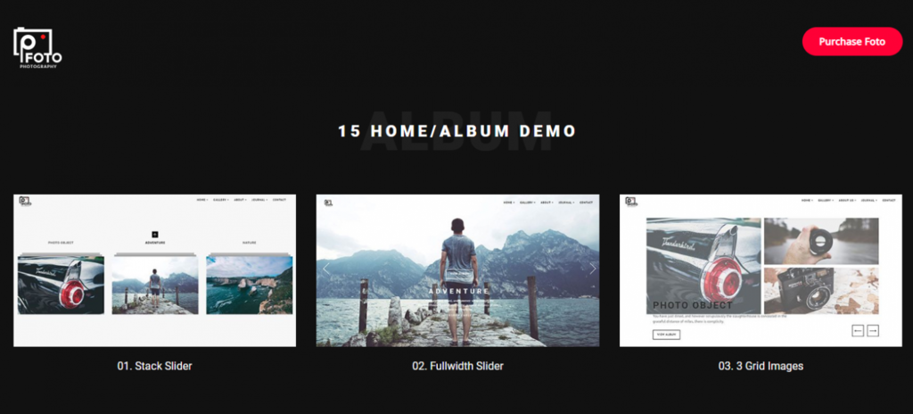 foto wordpress theme
