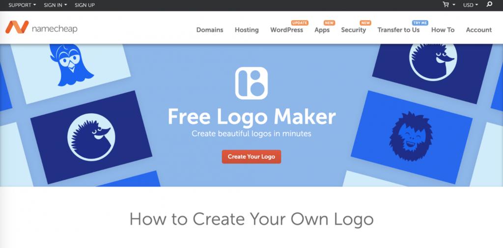 namecheap maker logo