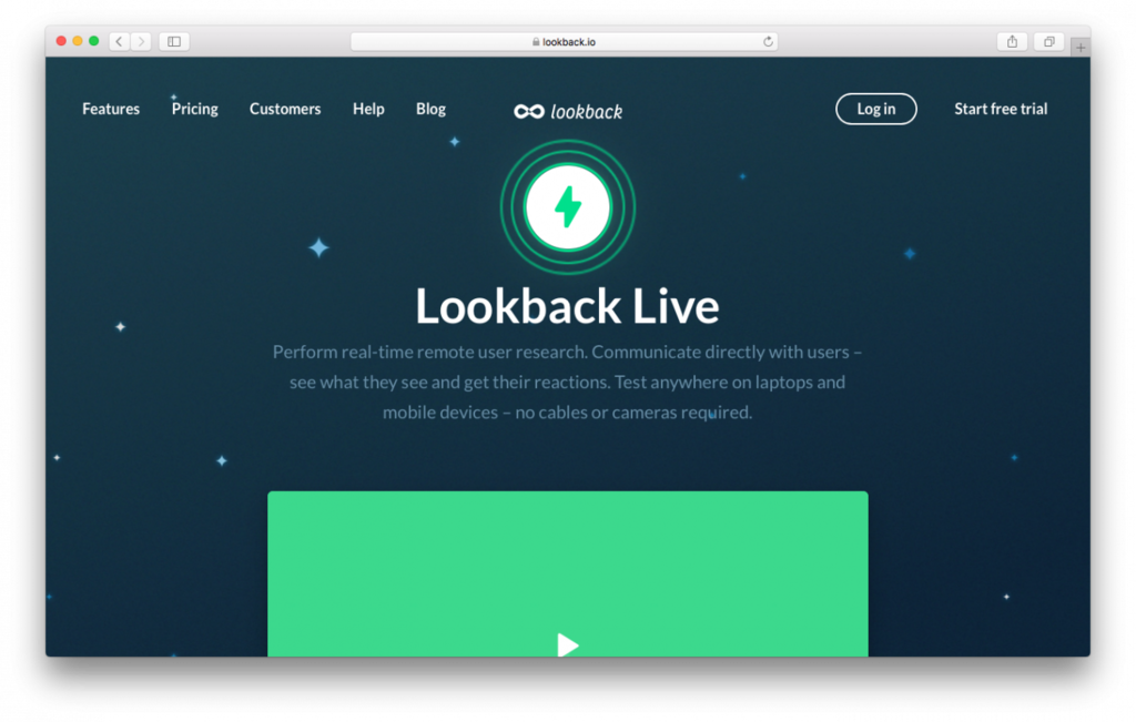 The loopback is great for checking website usability