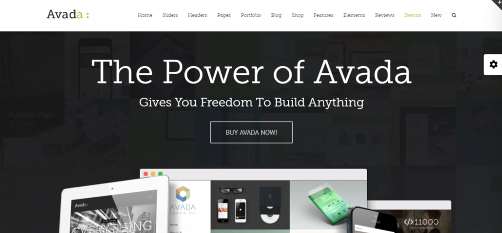 Fastest loading wordpress theme avada