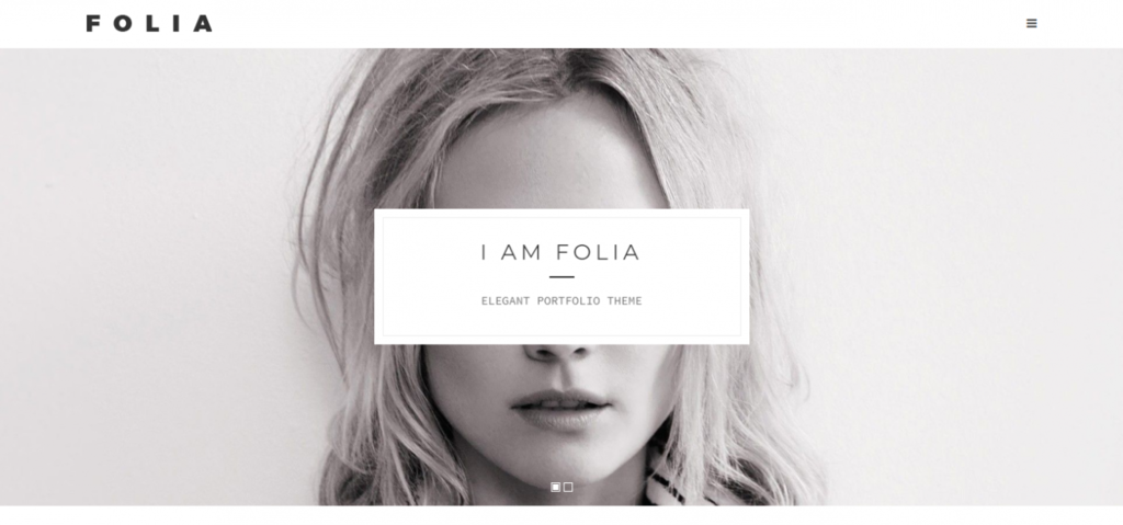 Fastest loading wordpress theme folia