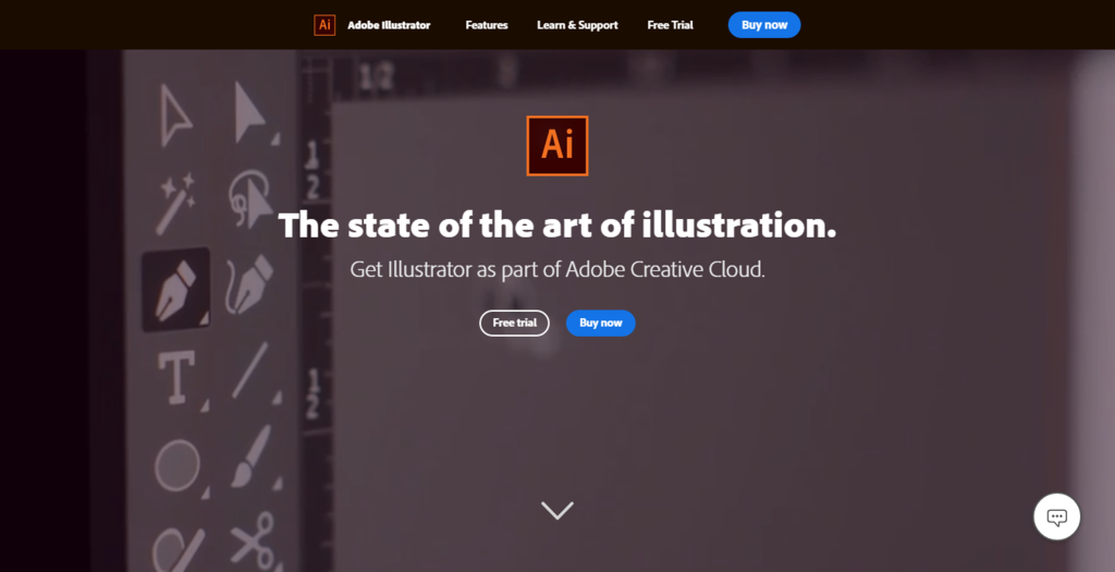 adobe homepage illustrator