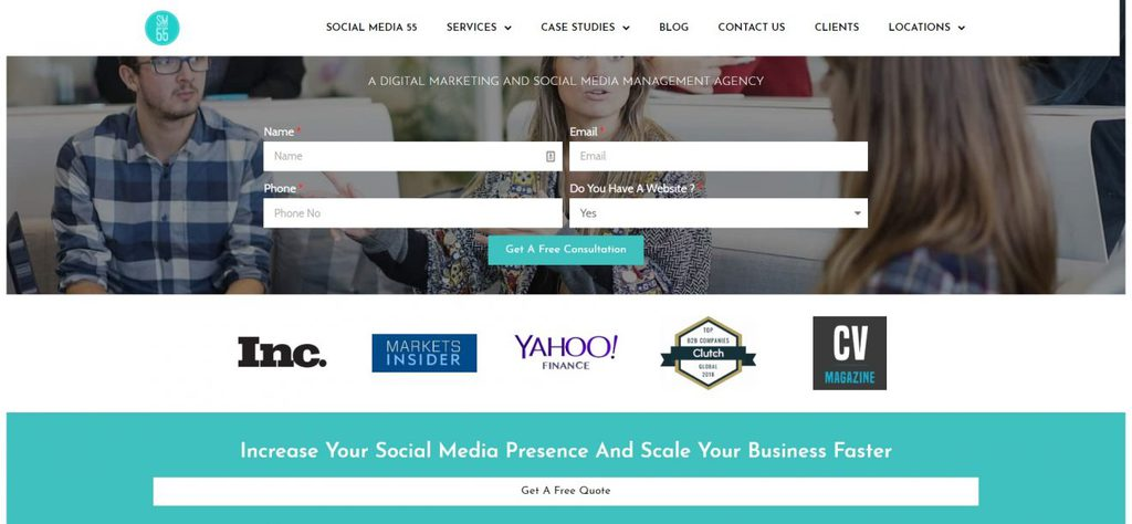 social media marketing company socialmedia55