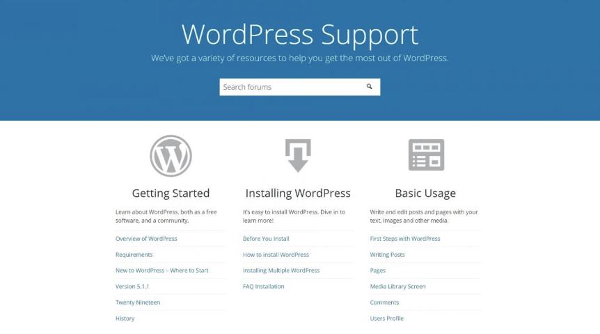 dien đàn hỗ trợ WordPress