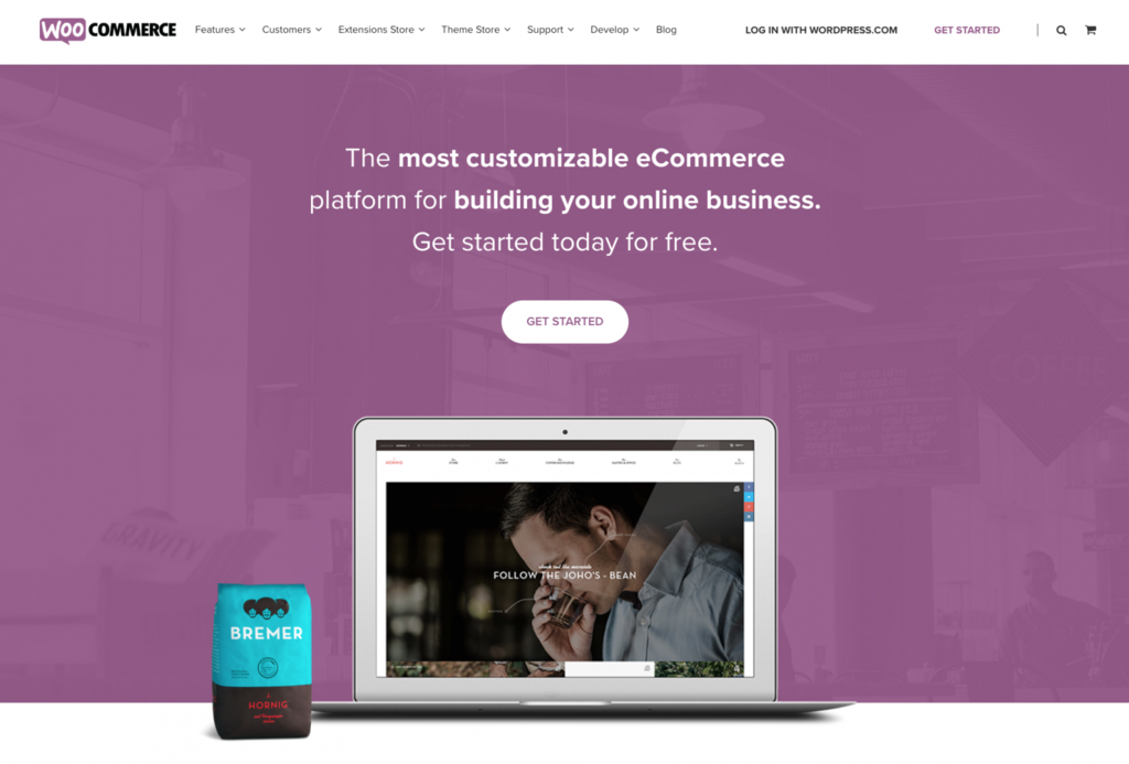 shop online bằng woocommerce