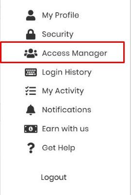 access manager hostinger