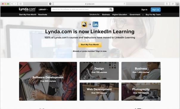 lynda.com trả phí