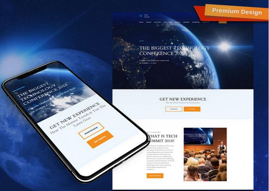 template website builder 11