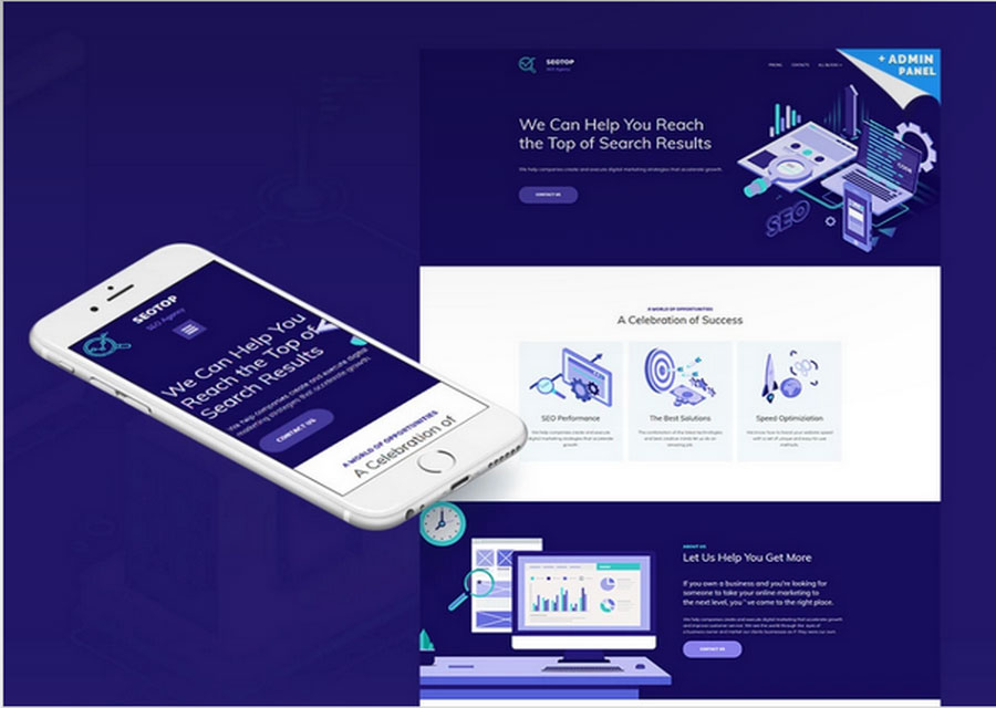 template website 27