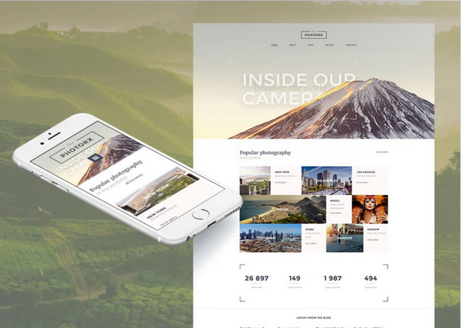 website builder template 37