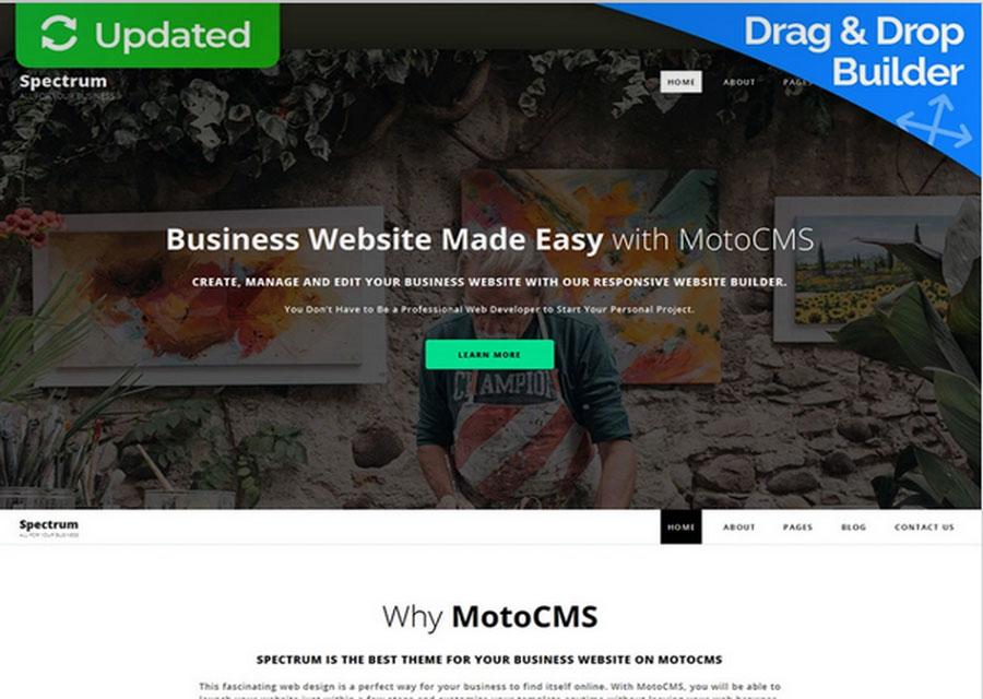 template website builder