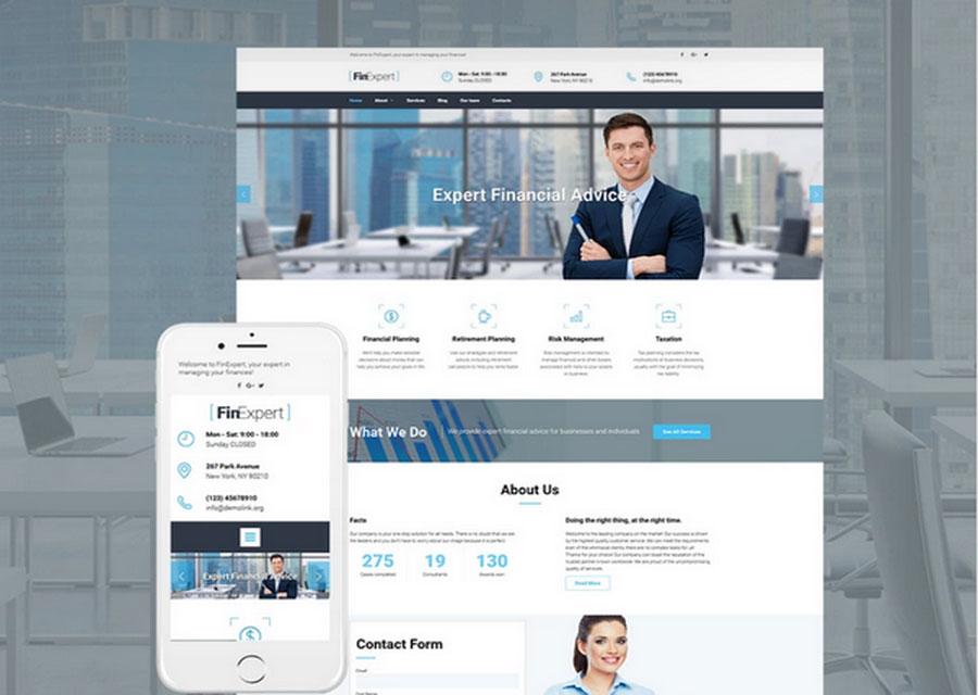 template website builder 6