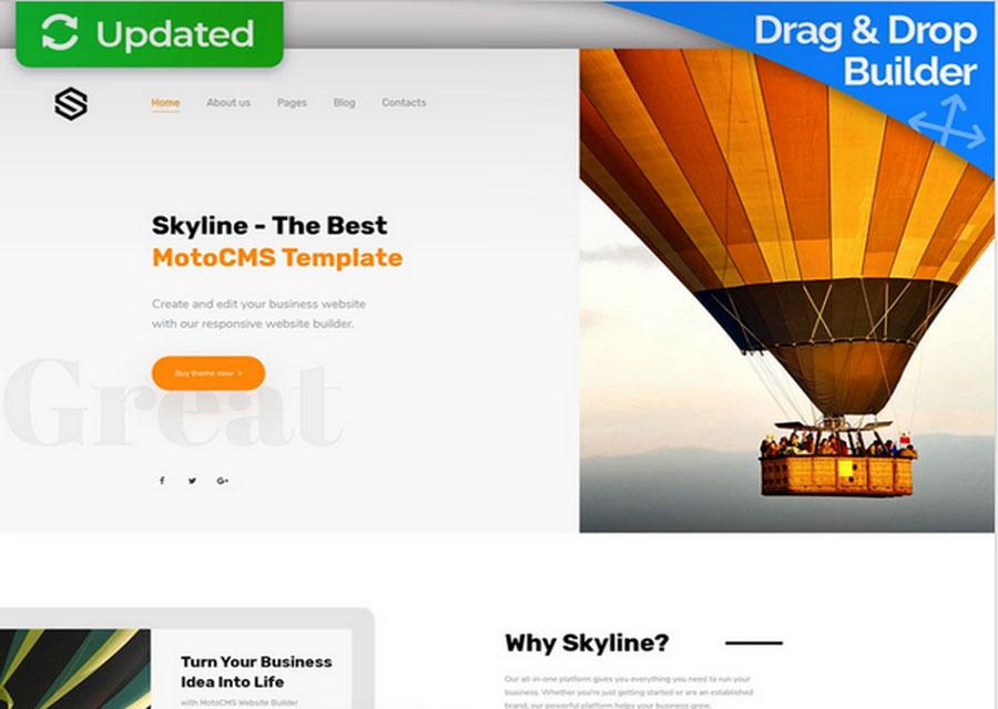 template website builder 8