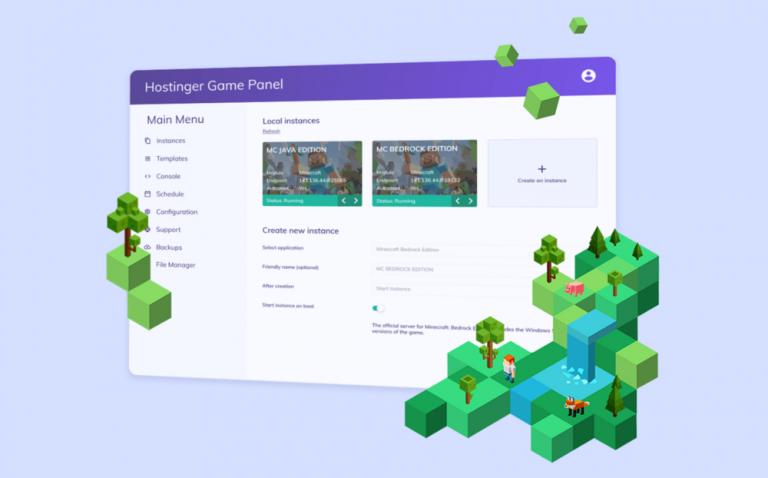 Cách mua và cấu hình Minecraft server của Hostinger